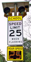 Radarsign school zone safety system
